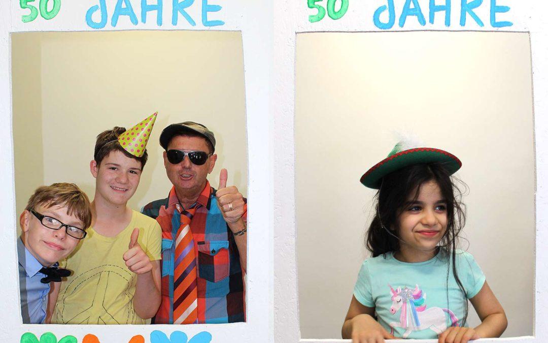 Wir feiern den 50. Geburtstag in der Außenstelle