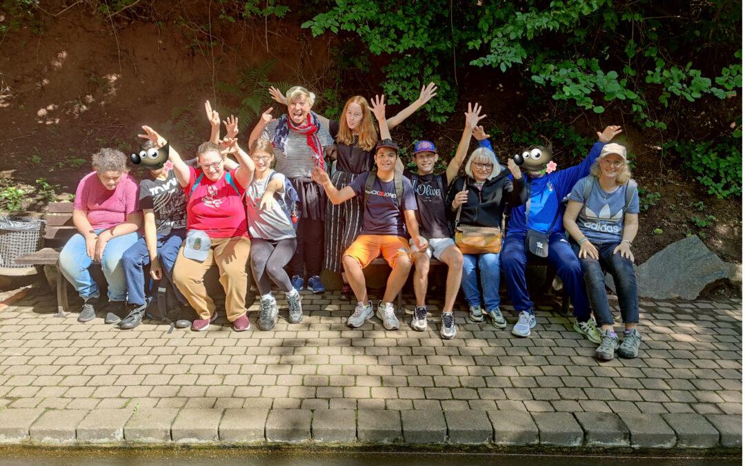 Ausflug der HW8 in den Naturpark Kallenborn