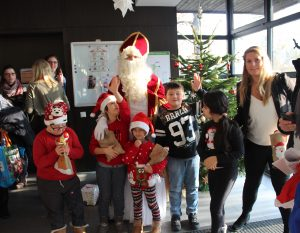 Der Nikolaus war zu Besuch